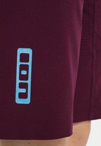ION - BIKESHORTS TRAZE - kurze Sporthose - pink isover - 3