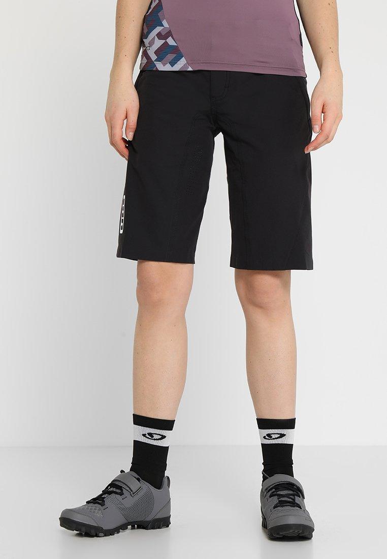 ION - BIKESHORTS TRAZE - Pantalón corto de deporte - black