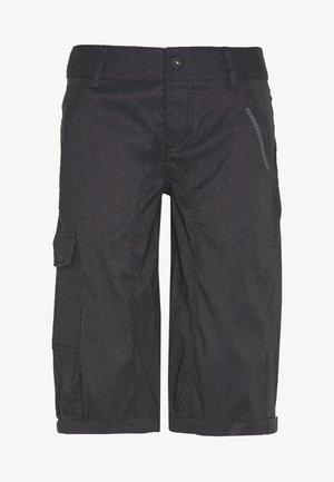 BIKESHORTS SEEK - 3/4 sportovní kalhoty - black