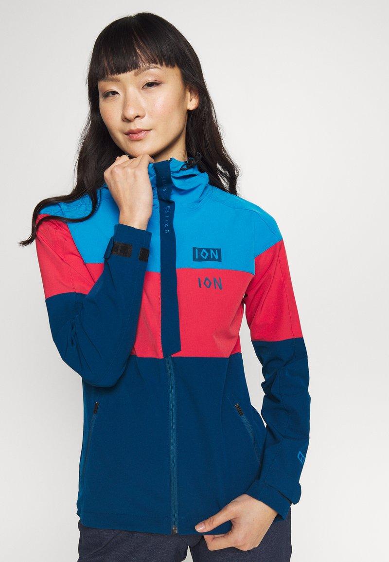 ION - JACKET SHELTER - Sportovní bunda - inside blue