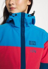 ION - JACKET SHELTER - Sportovní bunda - inside blue - 6