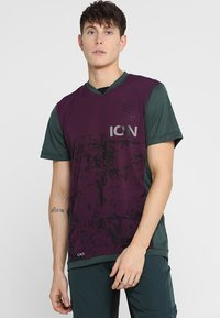 ION - TEE SCRUB AMP - T-Shirt print - green seek - 0