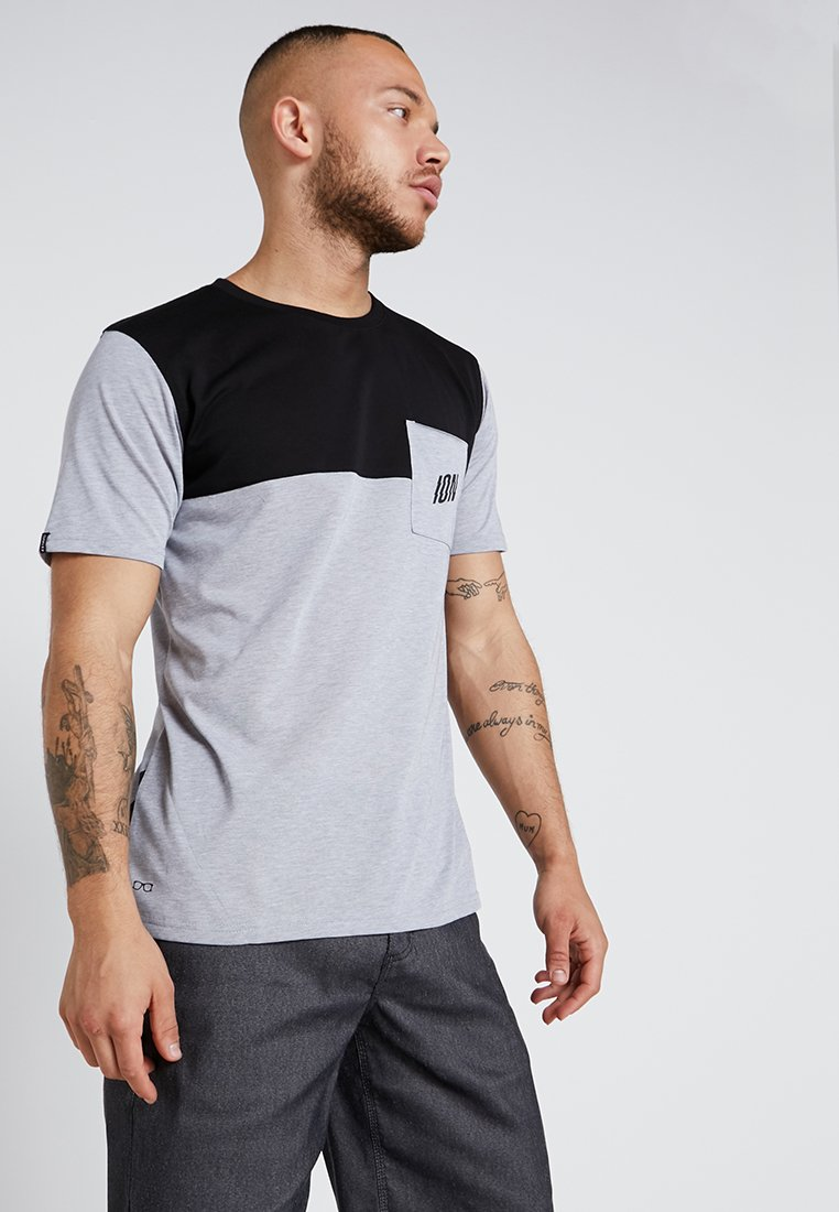 ION - ION TEE SEEK - Camiseta estampada - grey melange