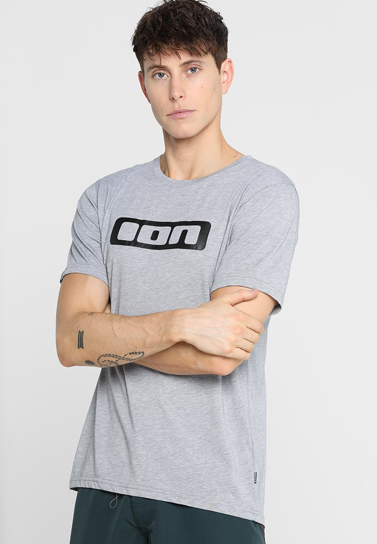 ION - TEE SEEK - T-shirt imprimé - grey melange