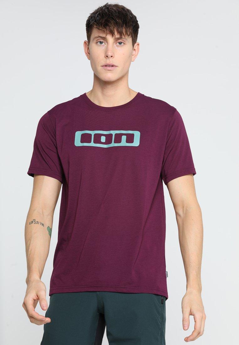 ION - TEE SEEK - T-Shirt print - pink isover