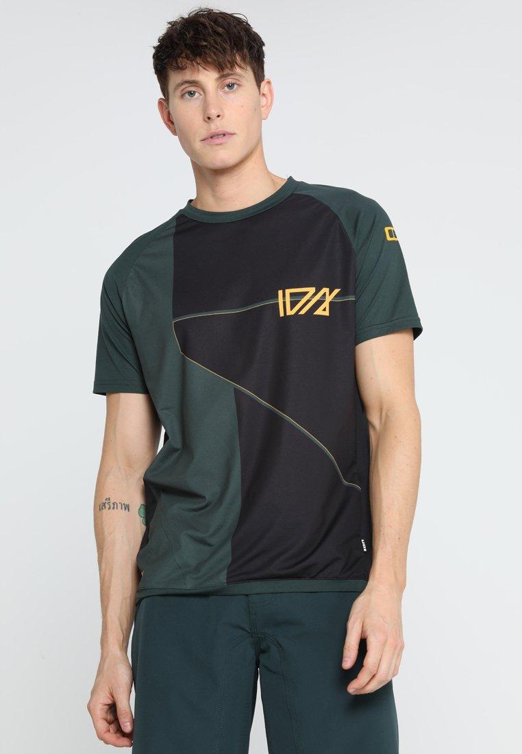 ION - ION TEE TRAZE CBLOCK - T-shirt print - green seek