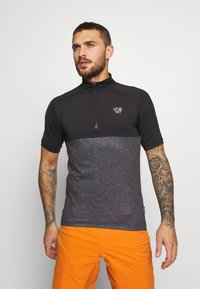 ION - TEE HALF ZIP PAZE - Sports shirt - black - 0