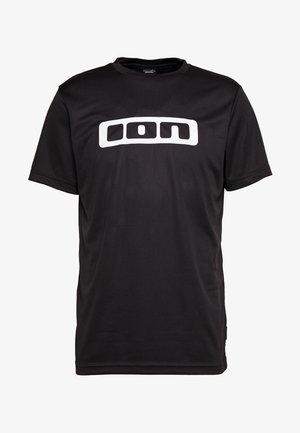 TEE SCRUB - T-Shirt print - black