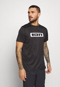 ION - TEE SCRUB - T-Shirt print - black - 0