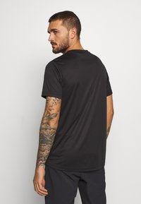 ION - TEE SCRUB - T-Shirt print - black - 2