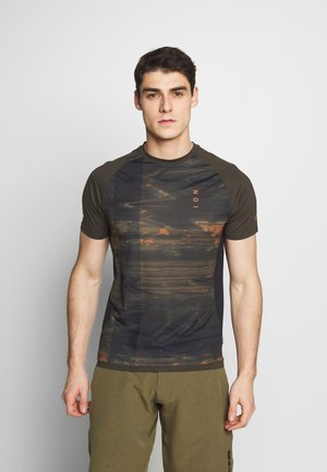 TEE TRAZE - Print T-shirt - root brown