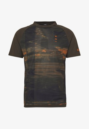 TEE TRAZE - T-shirt z nadrukiem - root brown