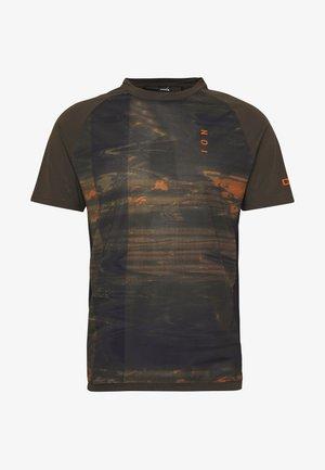 TEE TRAZE - Print T-shirt - root brown