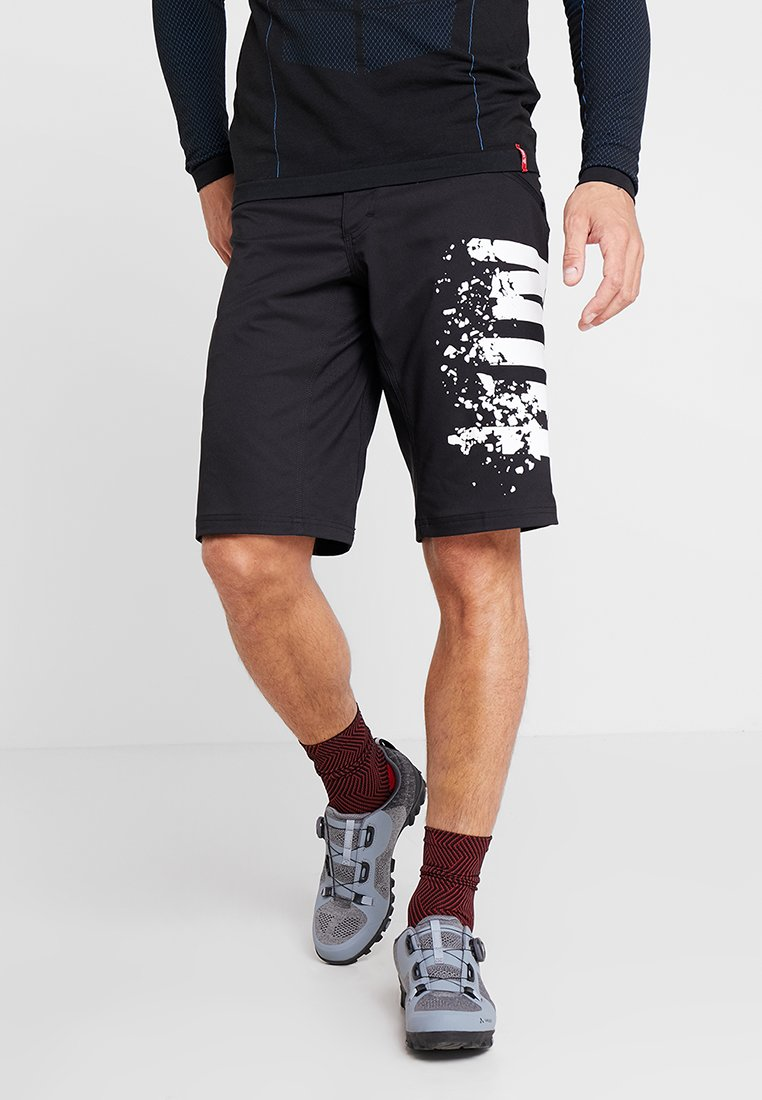 ION - BIKESHORTS SCRUB - Pantalón corto de deporte - black