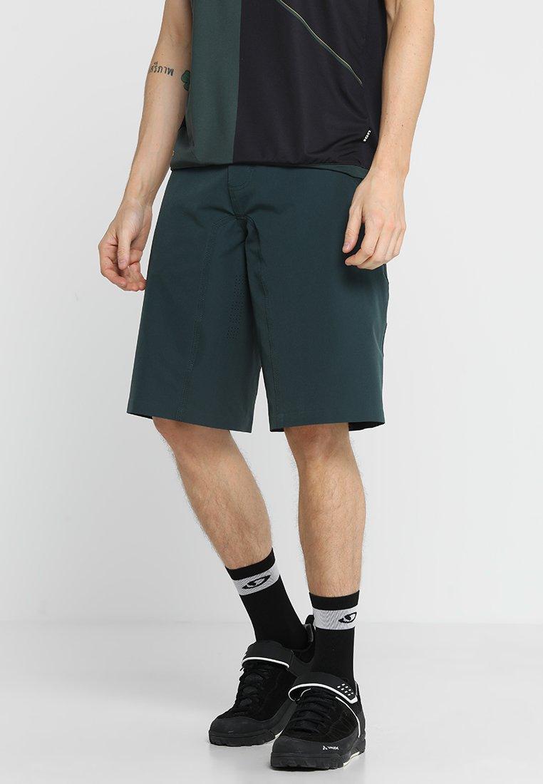 ION - ION - BIKESHORTS TRAZE - Pantalón corto de deporte - green seek