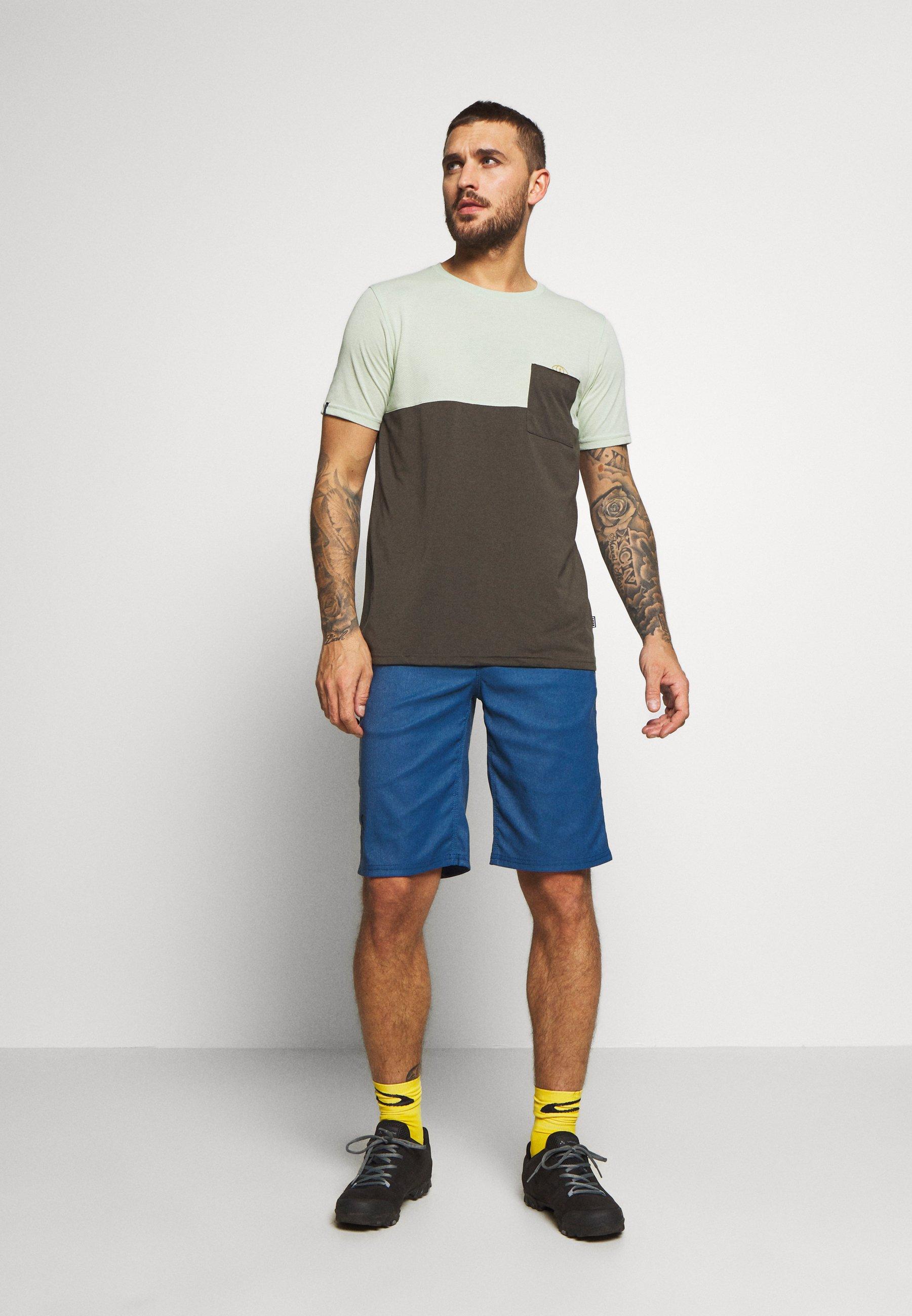 ION BIKESHORTS SEEK - Sports shorts - ocean blue