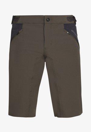 BIKESHORTS TRAZE - kurze Sporthose - root brown