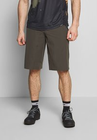 ION - BIKESHORTS TRAZE - Sports shorts - root brown - 0