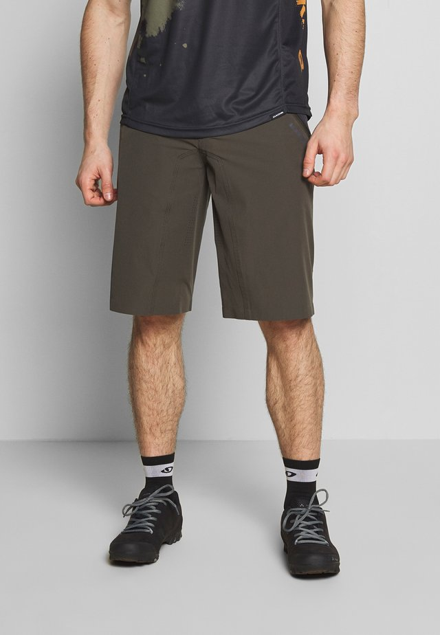 BIKESHORTS TRAZE - Sports shorts - root brown