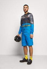 ION - BIKESHORTS TRAZE - kurze Sporthose - inside blue - 1