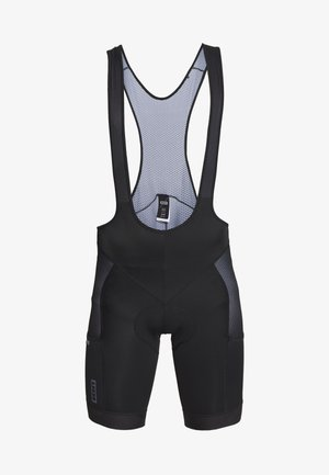 IN-BIBSHORTS PAZE - Leggings - black