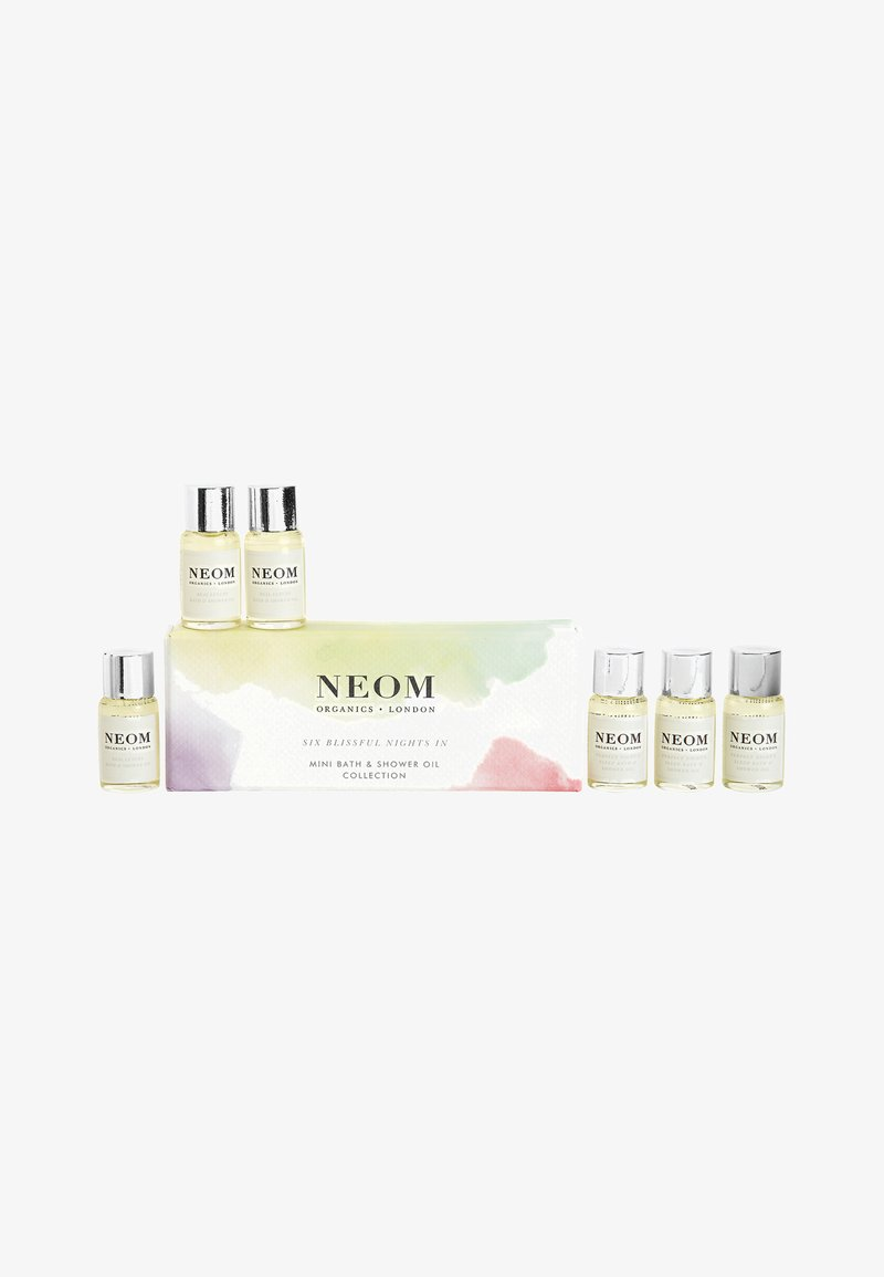Neom - BLISSFUL NIGHTS IN BATH & SHOWER OIL SET - Bath and body set - -
