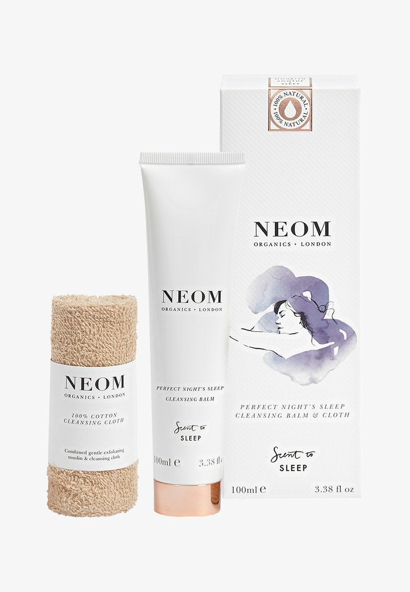 Neom - PERFECT NIGHT'S SLEEP CLEANSING BALM AND CLOTH - Skincare set - -
