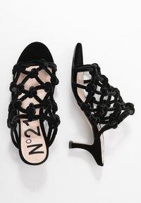 N°21 - Pantofle na podpatku - black - 3