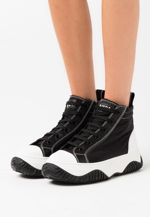 GYMNIC - High-top trainers - black