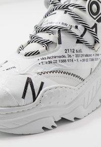 N°21 - BILLY - Sneakers basse - white - 5