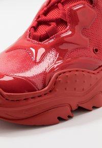 N°21 - BILLY - Sneakers basse - red - 5