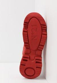 N°21 - BILLY - Sneakers basse - red - 4