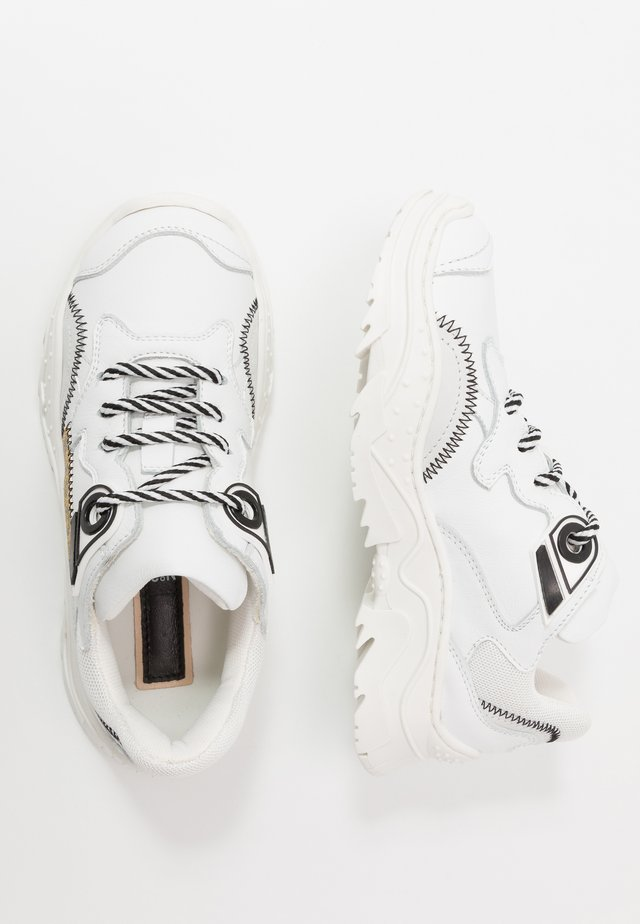 Sneakersy niskie - white/gold
