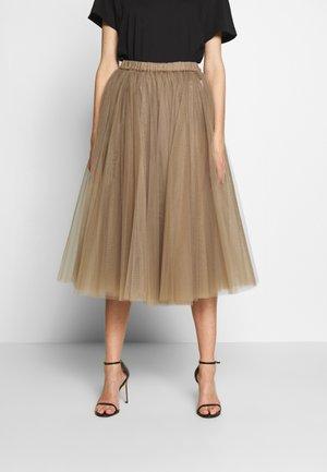 Áčková sukně - tortora