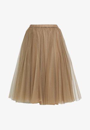 A-line skirt - tortora