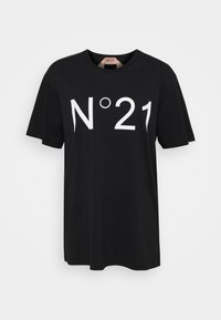 N°21 - T-shirt con stampa - black - 0