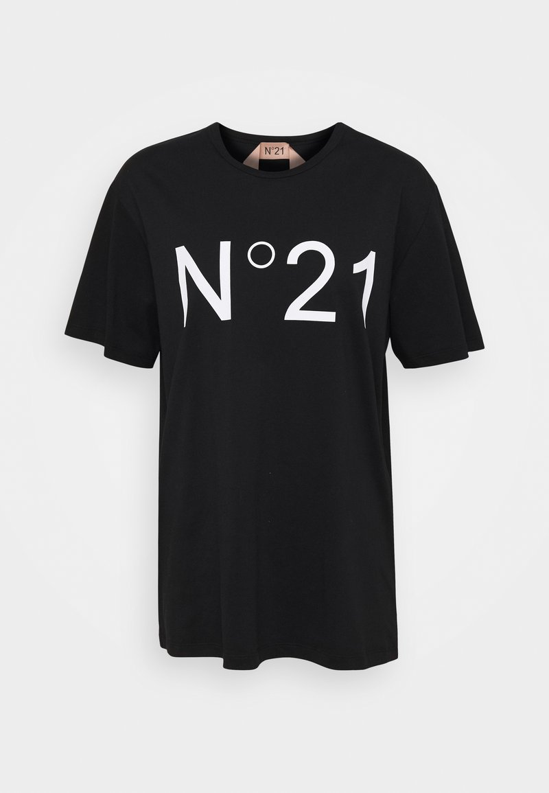 N°21 - T-shirt con stampa - black