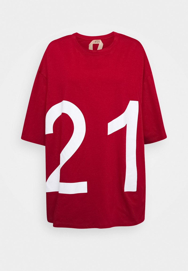 N°21 - T-shirt con stampa - red
