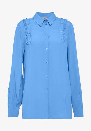 Button-down blouse - cielo