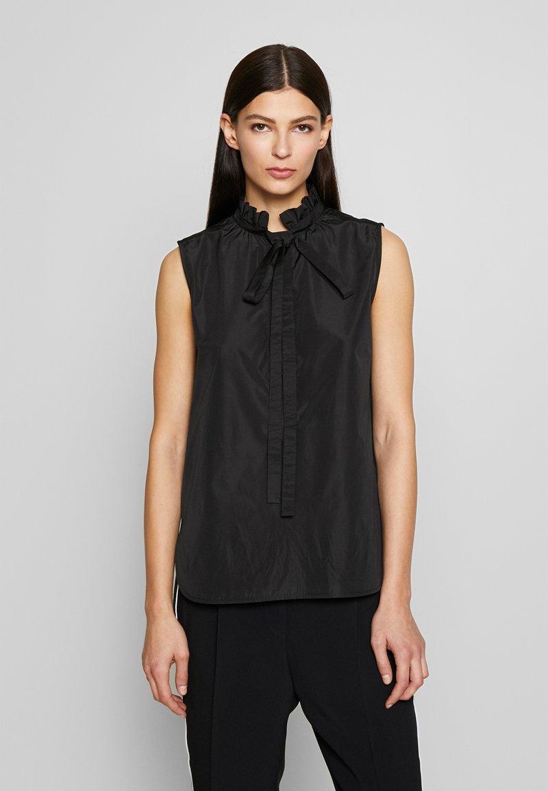 N°21 - Overhemdblouse - black