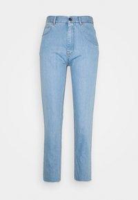 N°21 - Jeans baggy - degradable blue - 0