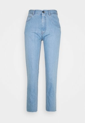 Jeans baggy - degradable blue