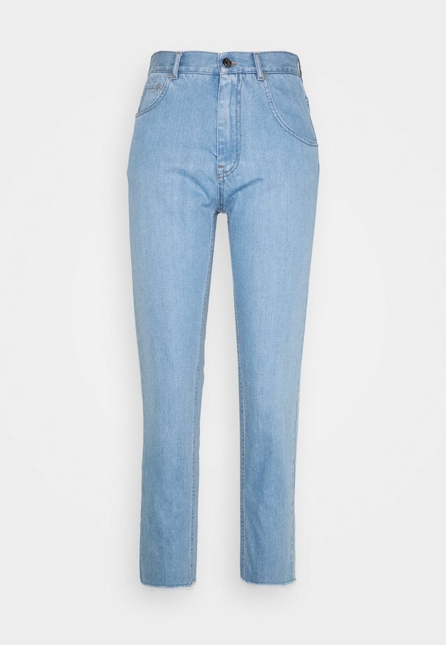 Jeans relaxed fit - degradable blue