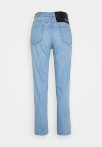 N°21 - Jeans baggy - degradable blue - 1