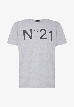 T-shirts print - melange grey