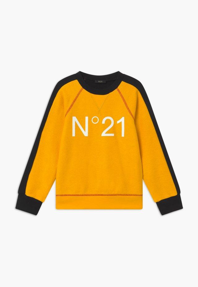 Sweatshirt - intense yellow