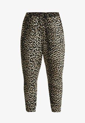 MARK ANIMAL - Teplákové kalhoty - brown