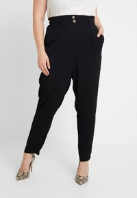 New Look Curves - X SOFT UTILITY TROUSER - Kalhoty - black - 0
