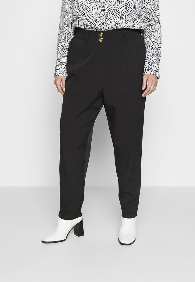 SIENNA UTILITY TROUSER - Kalhoty - black