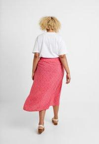 New Look Curves - BLOCK SKIRTS - Kietaisuhame - pink - 2